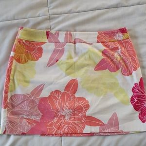 Express Floral Skirt Size 2